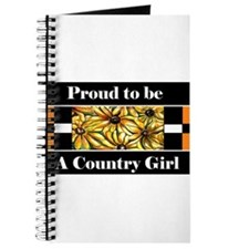 Proud To Be A Country Girl Journal