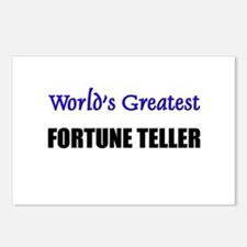 Worlds Greatest FORTUNE TELLER Postcards (Package