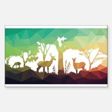 Forest abstraction Decal