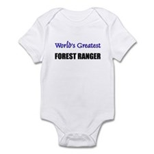 Worlds Greatest FOREST RANGER Infant Bodysuit