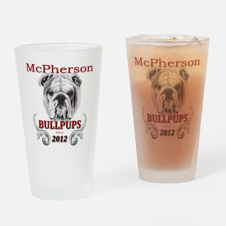 McPherson Bullpup Design 2012 Drinking Glass