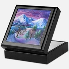 Mt Shasta Sunrise Keepsake Box