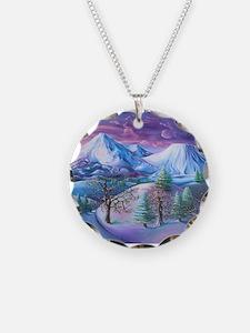 Mt Shasta Sunrise Necklace