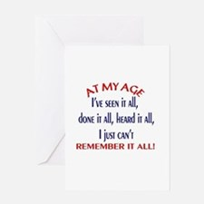 Funny 40th party Greeting Card