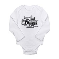Cute Routine Long Sleeve Infant Bodysuit