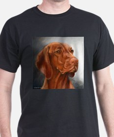 Cute Vizsla art T-Shirt