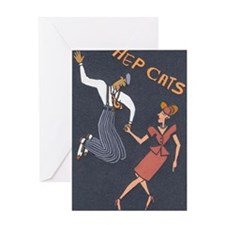 Unique Big band Greeting Card