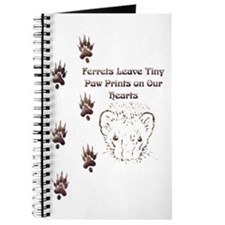 Tiny Paw Prints w/ Face(Stone) Journal