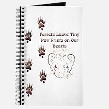 Tiny Paw Prints w/ Face(Stone) Journal
