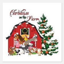 Christmas on the Farm Invitations