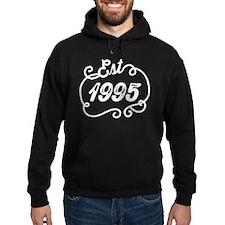 Est. 1995 Birth Year Birthday Hoodie