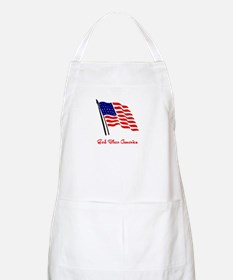 God Bless America Flag Apron