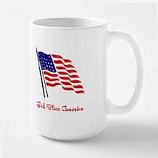 God Bless America Flag Mugs