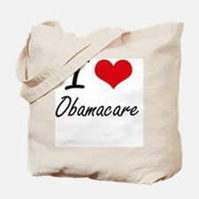 I Love Obamacare Tote Bag