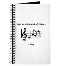 Instruments of Change I Sing Journal