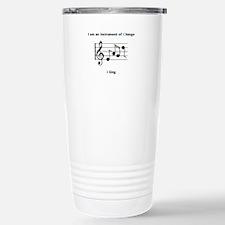 Instruments of Change I Sing Travel Mug