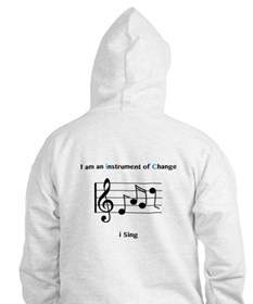 Instruments of Change I Sing Hoodie