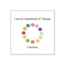 Instruments of Change I Nurture Sticker