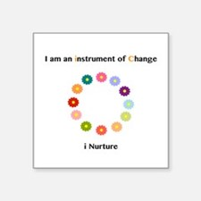 Instruments of Change I Nurture Sticker