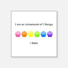 Instrument of Change I Bake Sticker