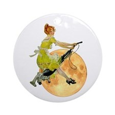 DOMESTICATED WITCH Ornament (Round)