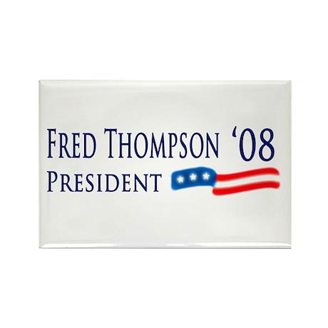 Fred Thompson for President Rectangle Magnet