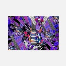 Music Guitar Art Musician Art by  Rectangle Magnet
