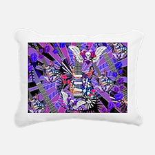 Music Guitar Art Musicia Rectangular Canvas Pillow