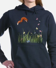 Unique Fox Women's Hooded Sweatshirt