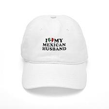 I Love My Mexican Husband Cap