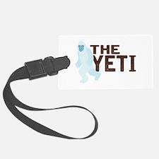 The Yeti Luggage Tag