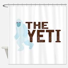 The Yeti Shower Curtain