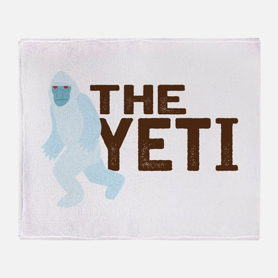 The Yeti Throw Blanket