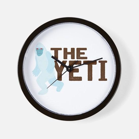 The Yeti Wall Clock