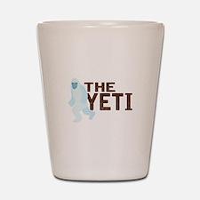 The Yeti Shot Glass