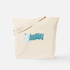 Abominable Yeti Tote Bag