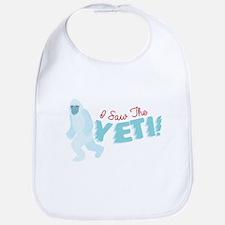 I SawThe Yeti Bib