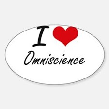 I Love Omniscience Decal
