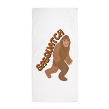 Sasquatch Beach Towel