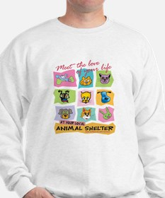 Funny Animal rescue Sweatshirt
