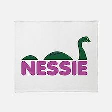 Nessie Monster Throw Blanket