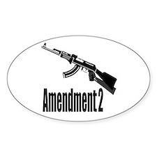Amendment 2 Decal