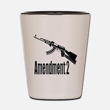 Amendment 2 Shot Glass
