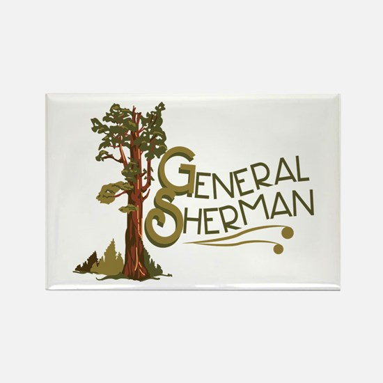 General Sherman Magnets