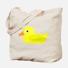 Yellow Duck Tote Bag
