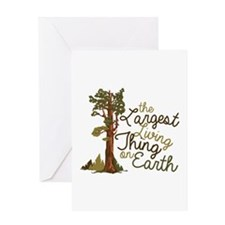 Largest Living Thing Greeting Cards