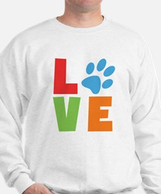 Cool Hippie love Sweatshirt