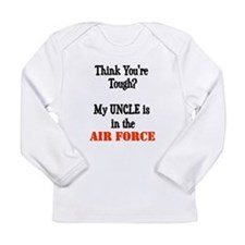 Funny Military daughter Long Sleeve Infant T-Shirt