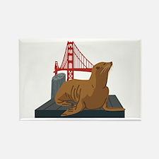 San Francisco Seals Magnets