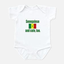 Cute Senegalese Infant Bodysuit